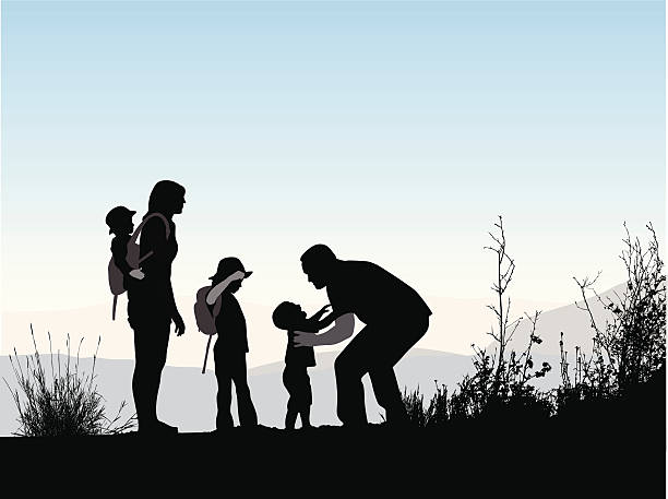 hiking-clipart-family-hike-8