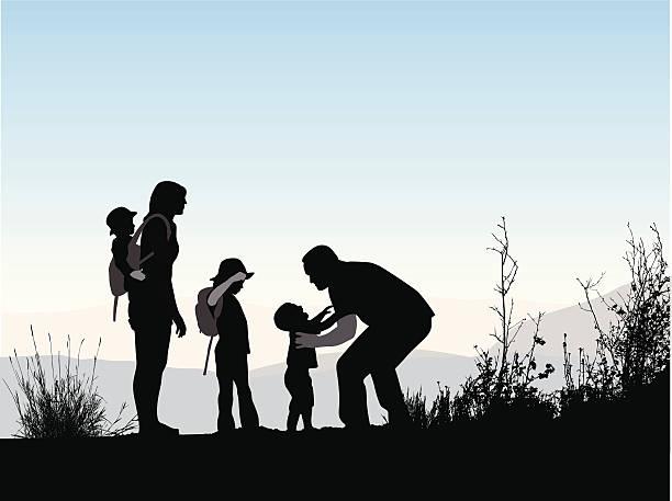 hiking-clipart-family-hike-8
